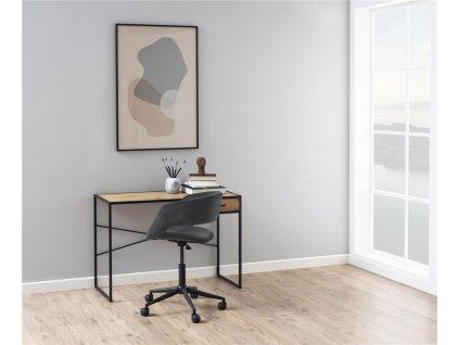 kovový psací stůl 110 cm