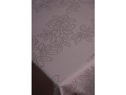 šedý ubrus 140x180 cm