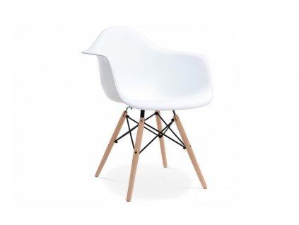 Židle NEREA, bílá 01
