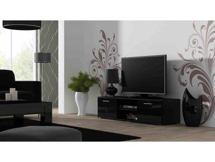 Televizní stolek SOHO 140, černý