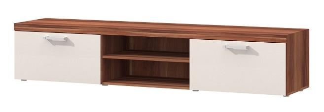Jurek TV stolík SAMBA 8 (slivka/krém)