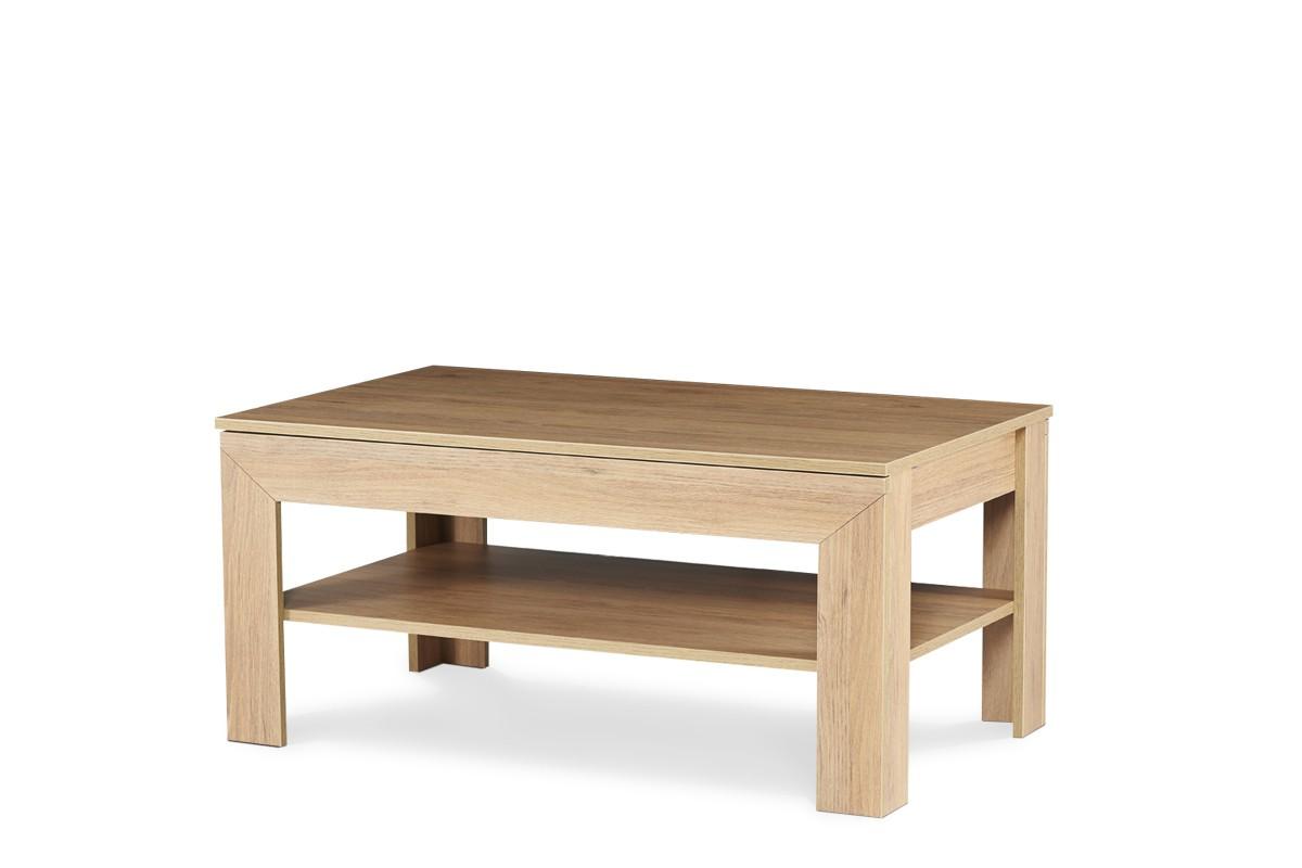 KONSIMO Konferenčný stolík CALDO dub 110 x 50 x 65 cm