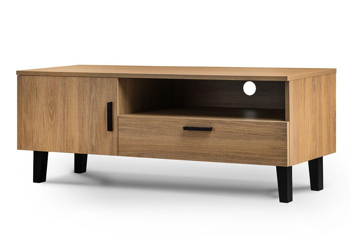 KONSIMO TV stolík FRISK dub 126 x 49 x 46 cm