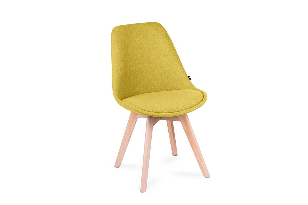 KONSIMO Stolička NETAL žltá