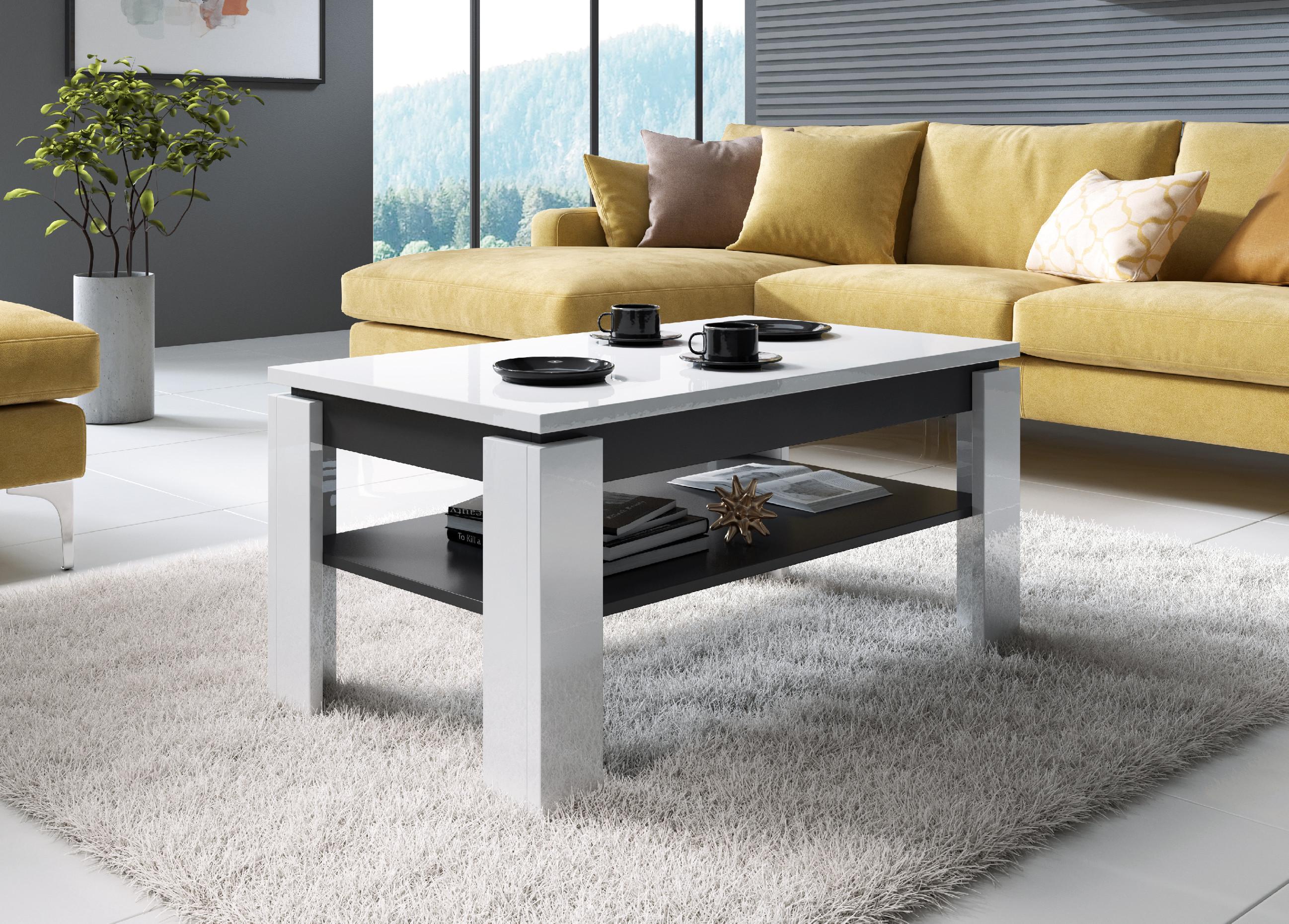 Cama Meble Konferenční stolička TORO Farba: bílý/grafit