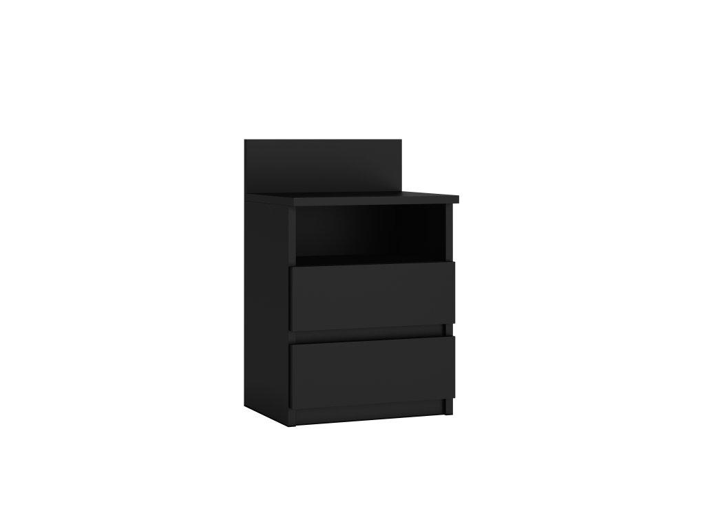 Noční stolek Puna P1, černá