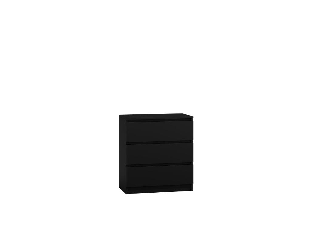 Komoda PUNA P3, černá