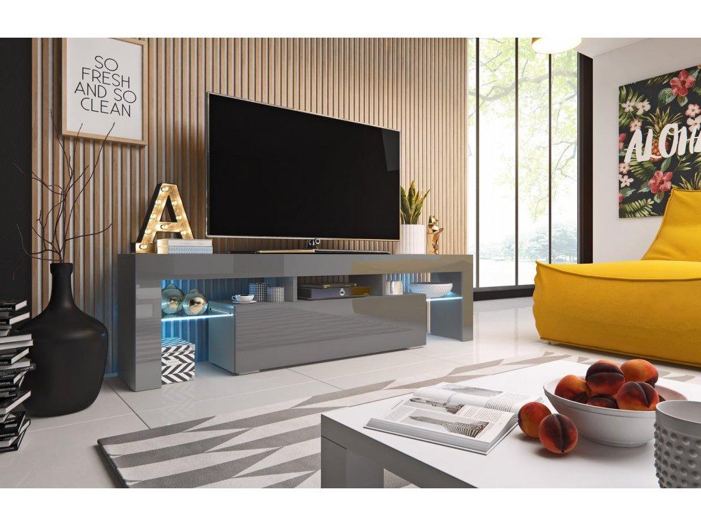 TV stolek TORO 158 (šedá)