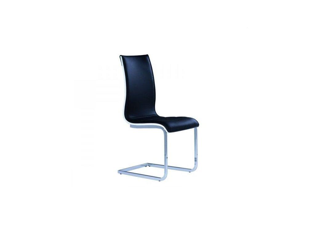 Jídelní židle H-133, černá, SKLADEM 4ks