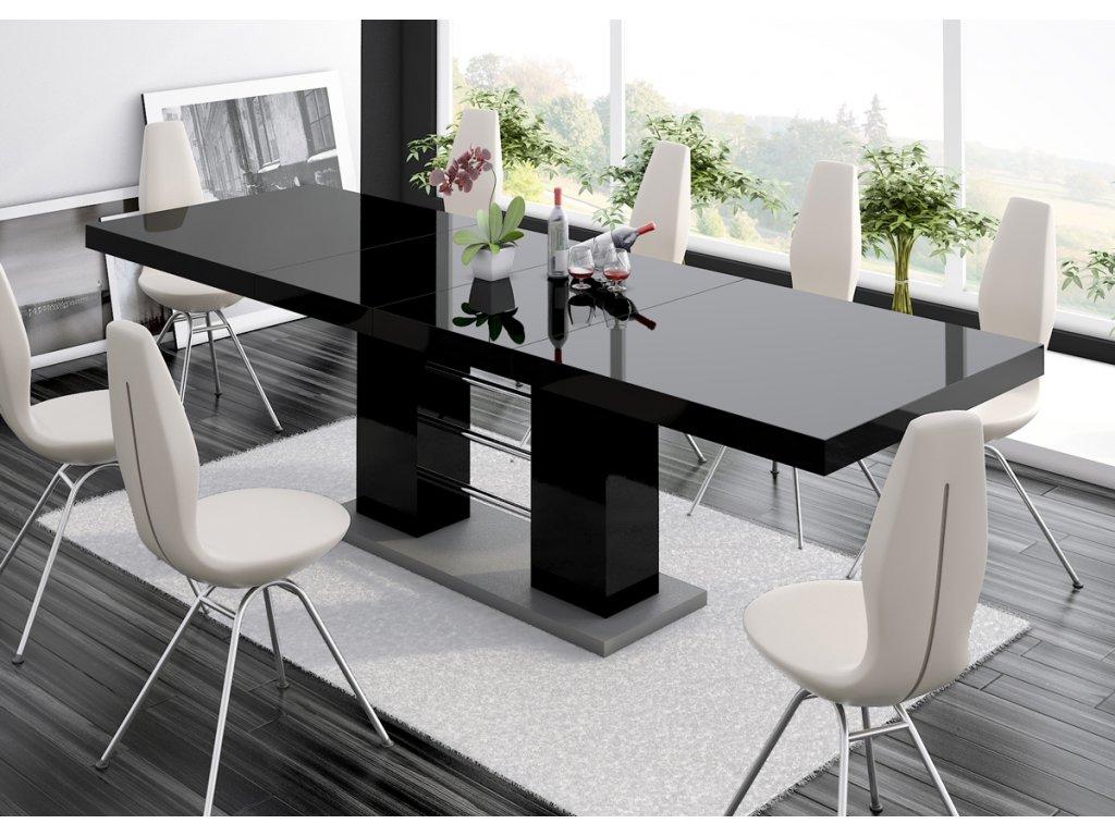 Jídelní stůl LINOSA 2, černá