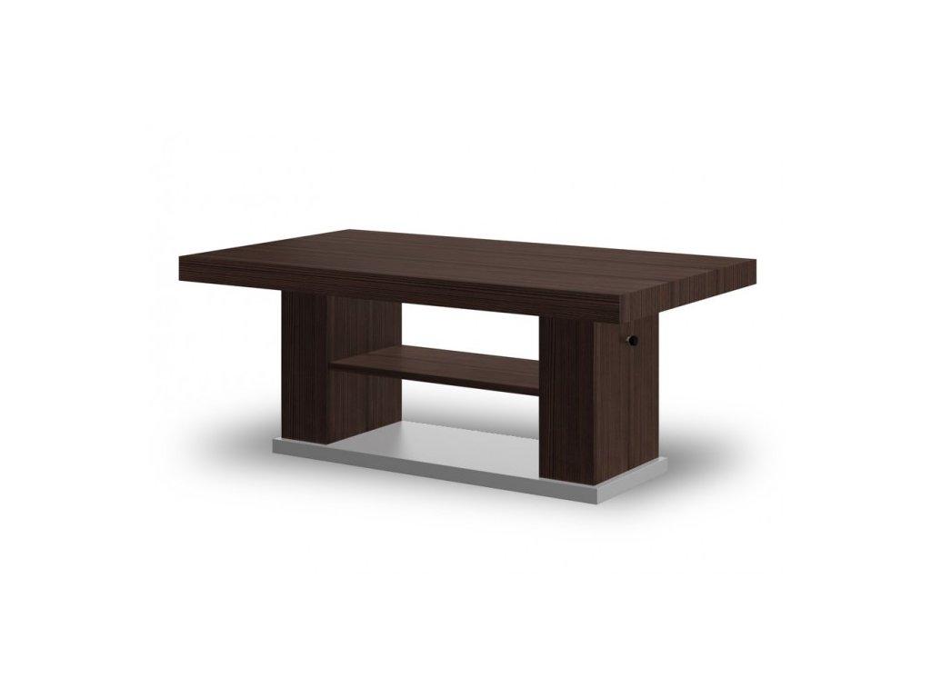 Konferenční stolek MATERA 2, avola braz/šedá