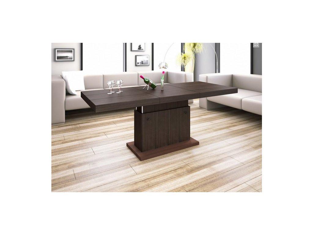 Konferenční stolek MATERA LUXURY, avola/wenge