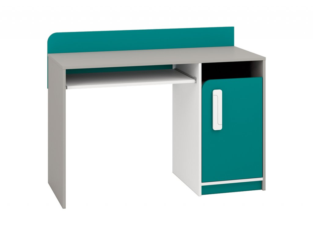 Psací stůl IQ 11, modro/zelený