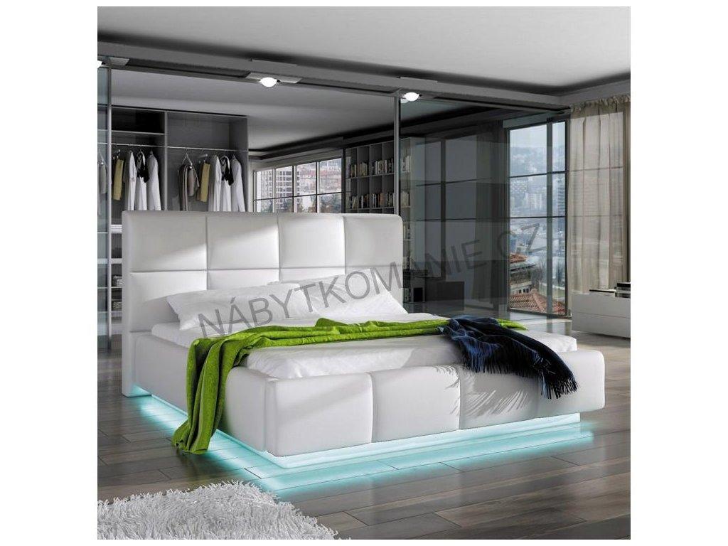 Manželská postel ASTI, 140 x 200 cm