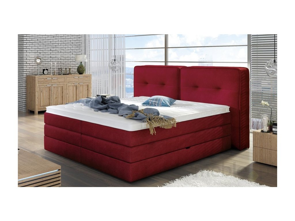 Luxusní postel FALUN, 160 x 200 cm