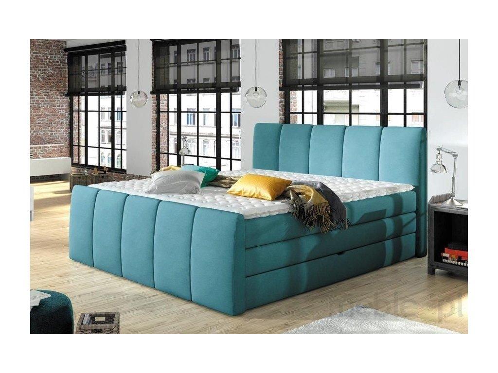 Luxusní postel FRESCO, 140 x 200 cm