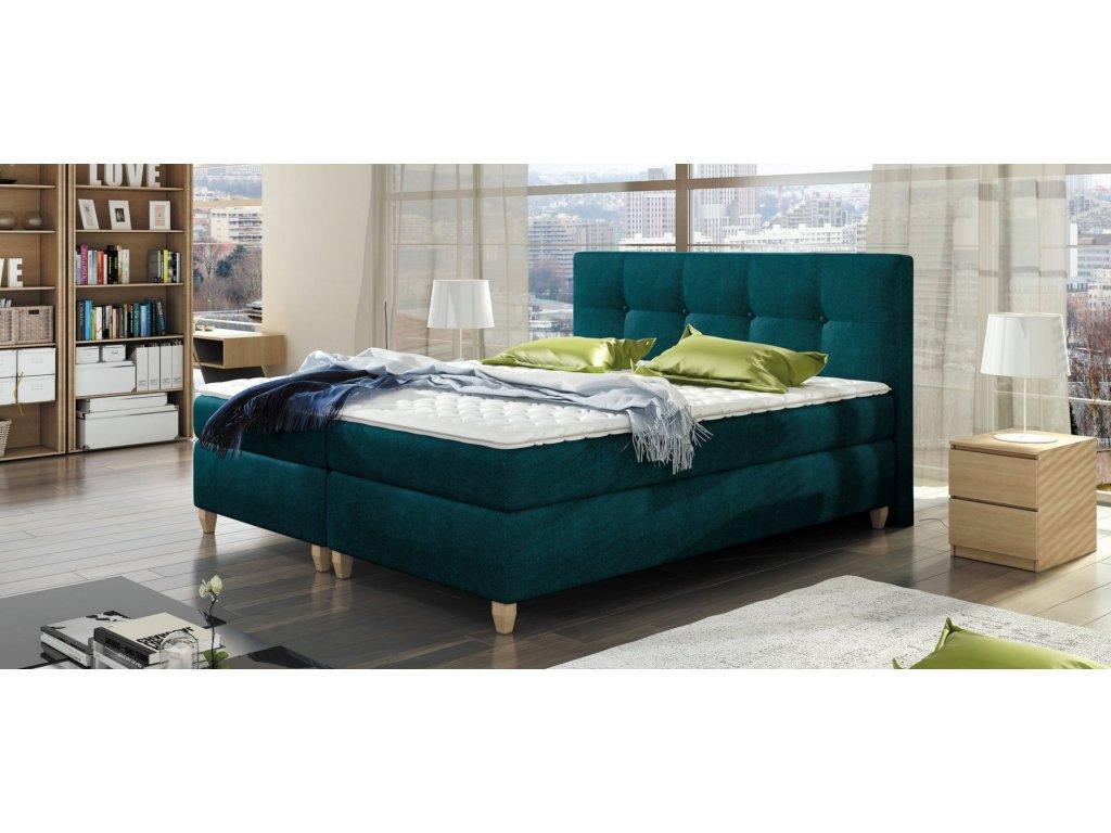 Luxusní postel MALTA, 140 x 200 cm