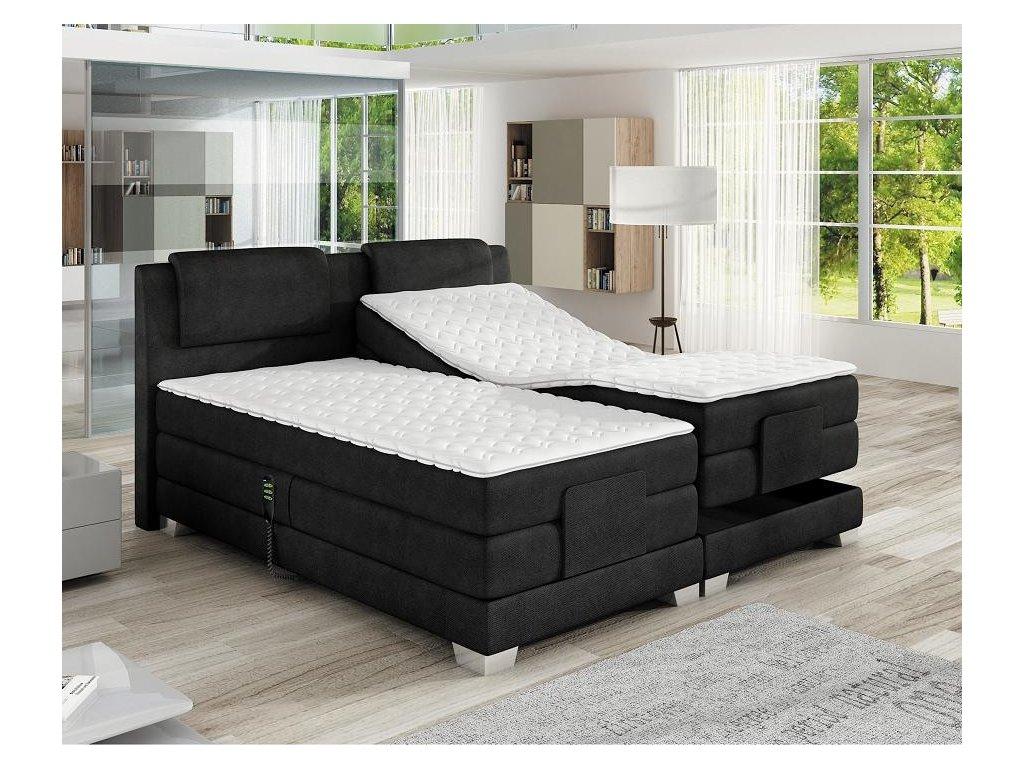 Luxusní elektronicky polohovatelná postel WAVE 180 x 200 cm