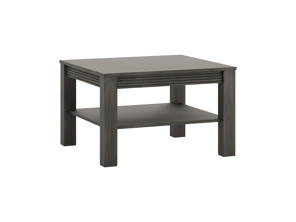 Konferenční stolek SEVILLA 70 (Norská borovice/bílý lesk)