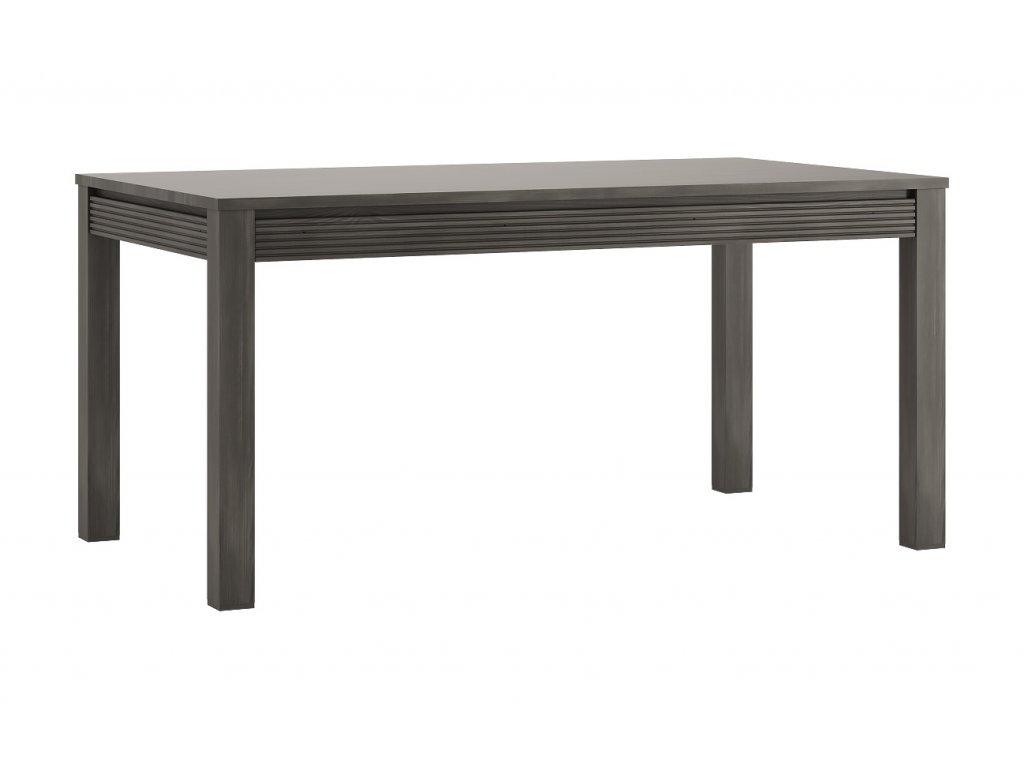 Rozkládací jídelní stůl SEVILLA 75 (Norská borovice/bílý lesk)