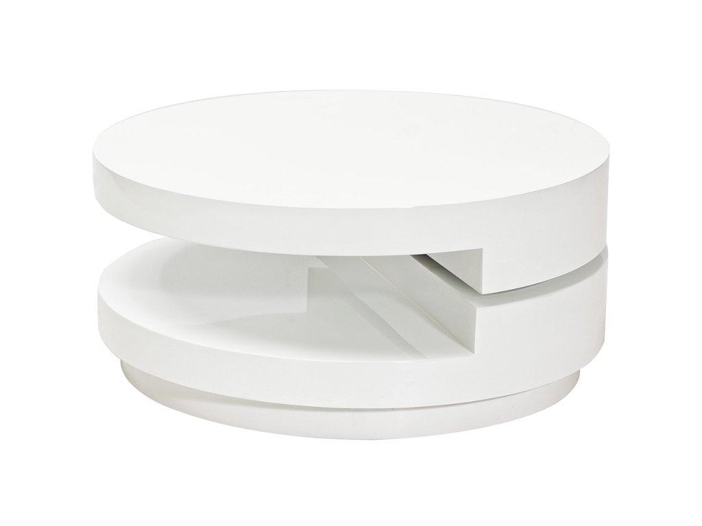 Konferenční stolek FABIOLA bílá