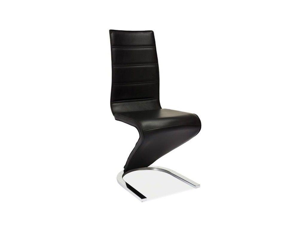 Jídelní židle H-669 (černobílá)