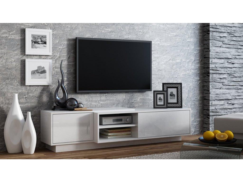 Televizní stolek SIGMA 1 WHITE