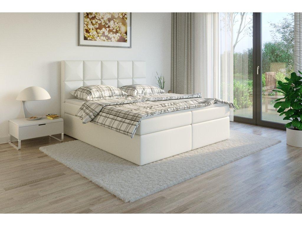 Čalouněná postel boxsprins madryt920