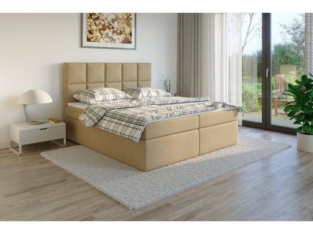 Čalouněná postel boxsprins jasmine45