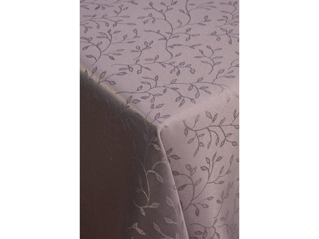 ubrus šedý 140x220 cm