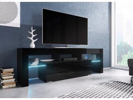 TV stolek TORO 138 (černá)
