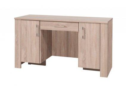 PC stůl CEZAR 17 (dub sonoma/dub sonoma)