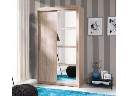 Šatní skříň NEGRO (sonoma-120cm)