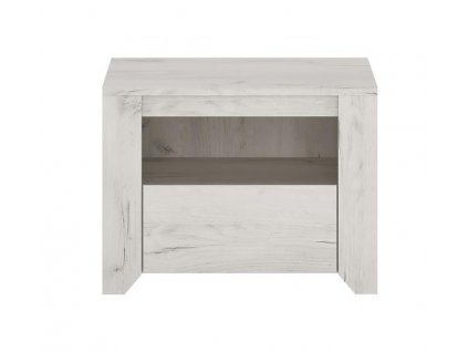 Noční stolek Angel 95 (dub bílý)
