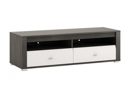 TV stolek / Komoda SEVILLA  50 (Norská borovice/bílý lesk)