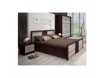 Manželská postel FAMILIA (160x200)