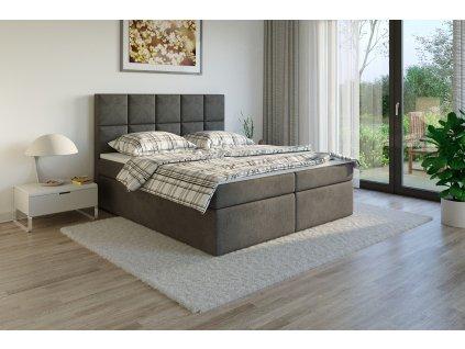 Čalouněná postel boxsprins sawana05