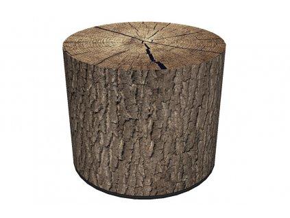 Taburet RASIL dekor dřeva 01