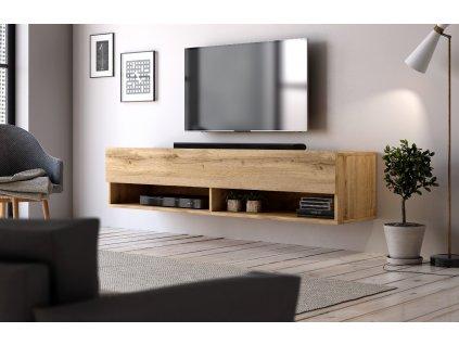 51738 televizni stolek derby 140 dub wotan