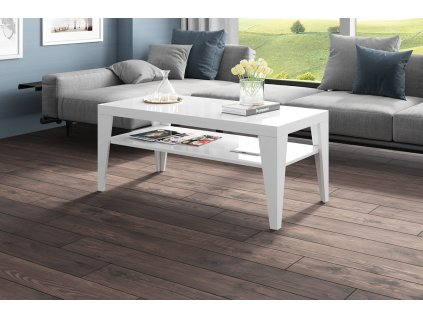 Konfereční stolek Deco-120, bílý