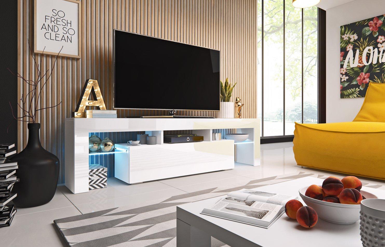 Cama TV stolek TORO 158 Barva: bílá