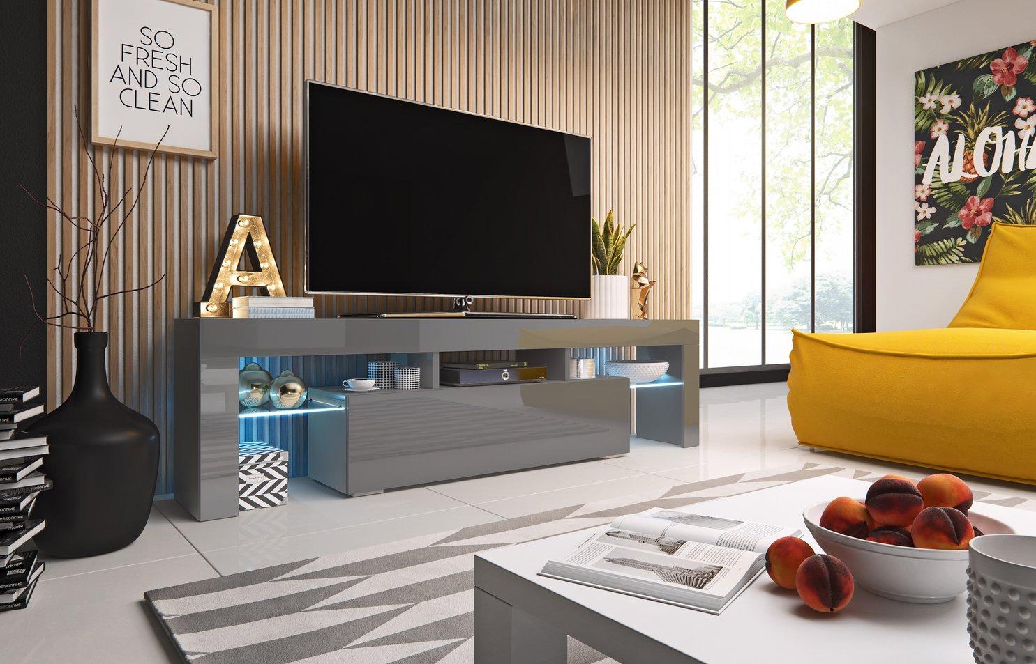 Cama TV stolek TORO 158 Barva: šedá