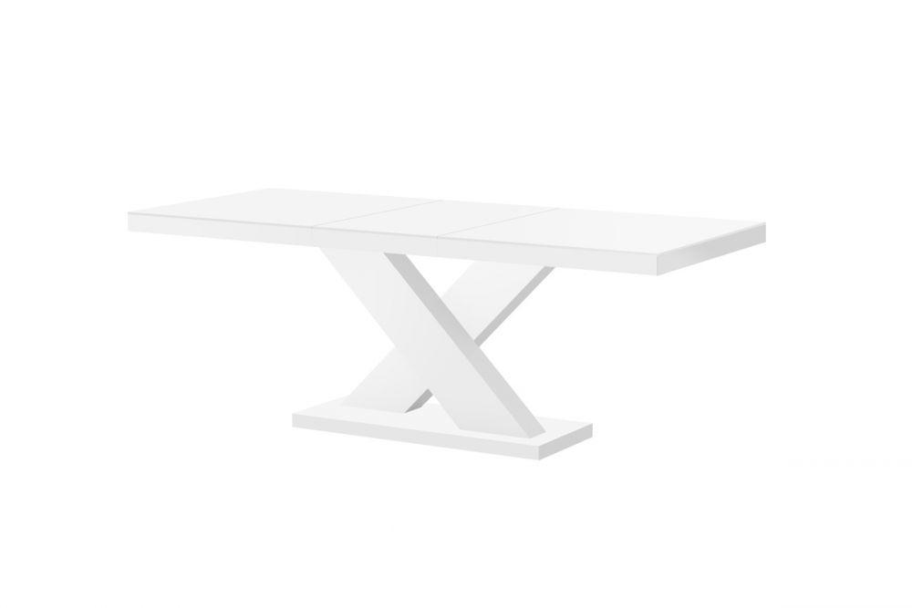 Hubertus Rozkládací jídelní stůl XENON MAT Barva: bílá