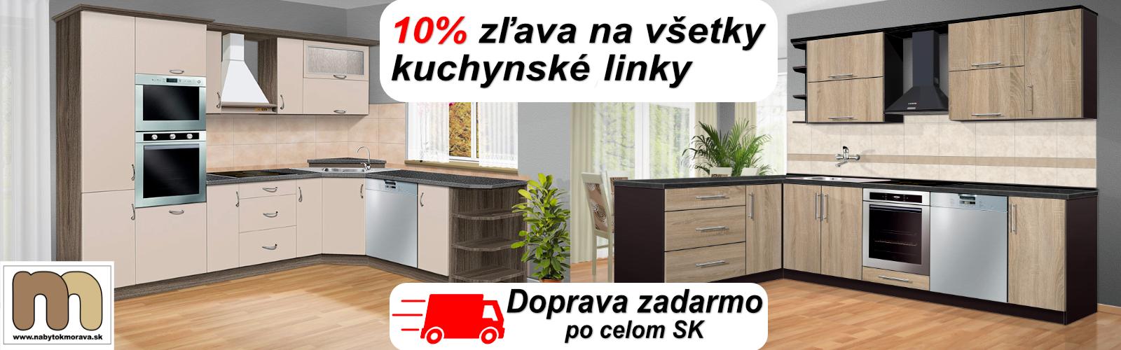 Zľava na kuchyne 10%