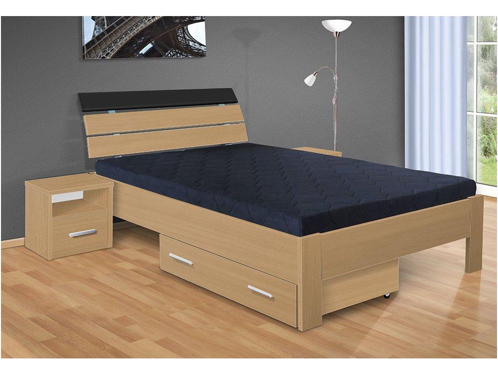 manželská posteľ Darina 200x180 cm buk