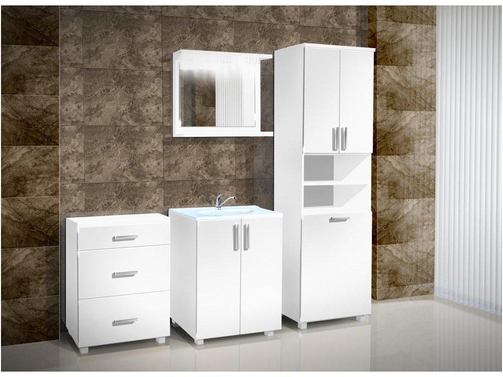 Kúpeľňová skrinka pod umývadlo K7