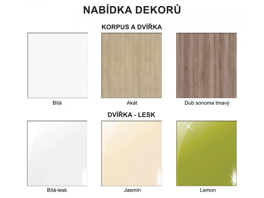 Závesná kúpeľňová skrinka so zrkadlom K11