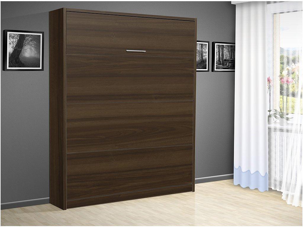 Sklápacie výklopná posteľ VS 3054 P 200x160 cm otvorená