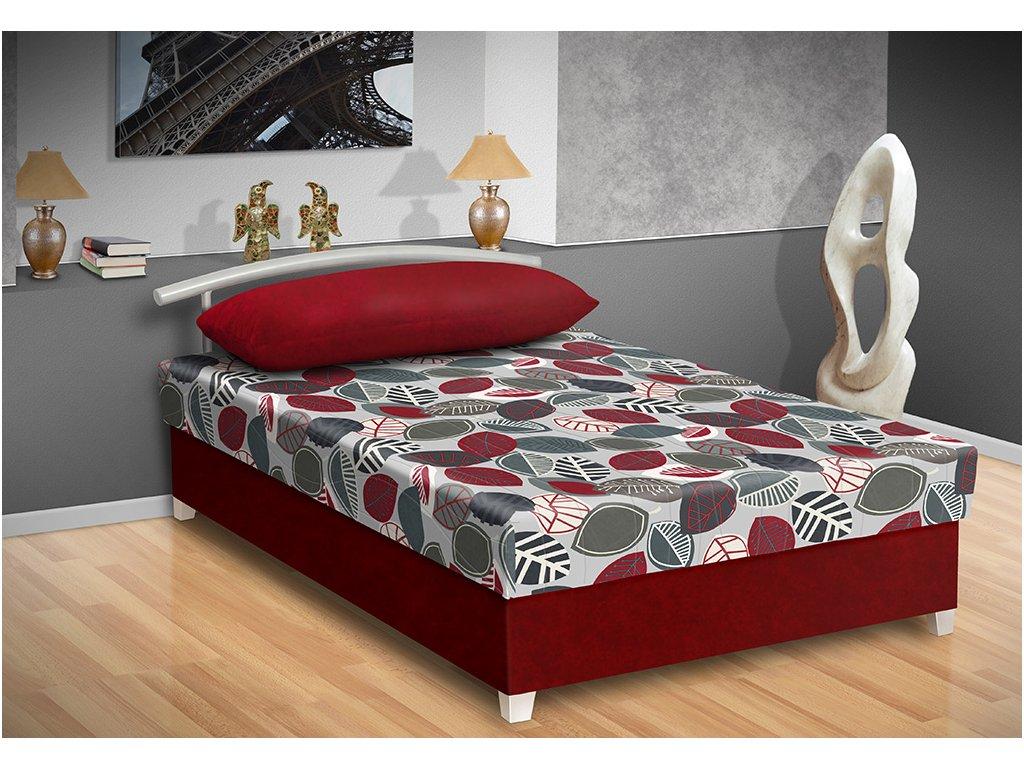 Čalúnená posteľ s úložným priestorom Katy