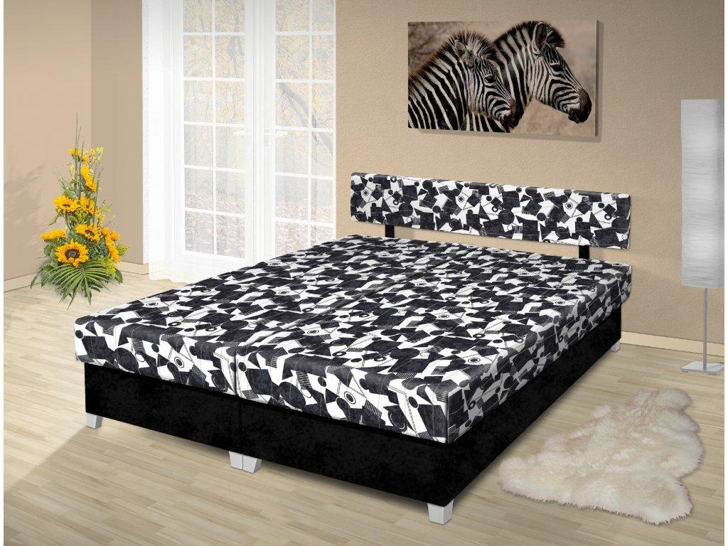 Manželská posteľ s úložným priestorom Adéla 180x200 cm